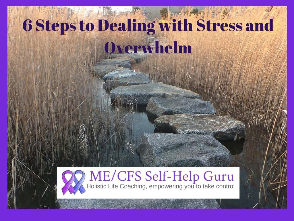 6 steps overwhelm workshop
