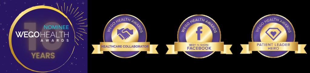 Wego award nomination badges